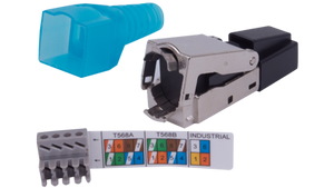 FTPSA0A Category 6, 6A, and 7 Shielded RJ45 Plug