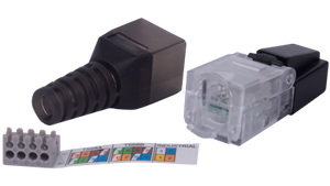 FTPU60A Category 6 Unshielded Field Terminable RJ45 Connector