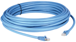 PPC6ABS035GY 35' LAN and HDBaseT Solutions Shielded Category 6A pre-made plenum patch cable