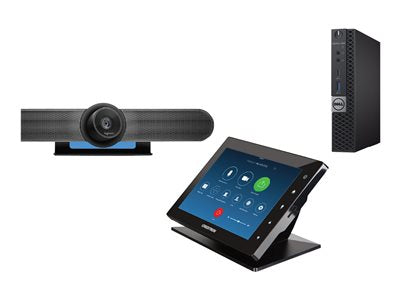 Zoom Room Kit with Crestron TSW760-B-S