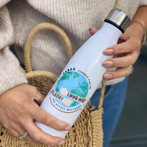 Personalised Refill Movement Thermal Water Bottle