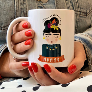 Motivational Frida Inspired Ceramic Mug