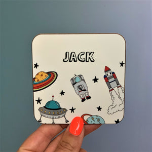 Space Theme Coaster