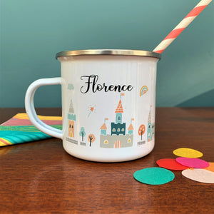 Fairytale Personalised Enamel Mug