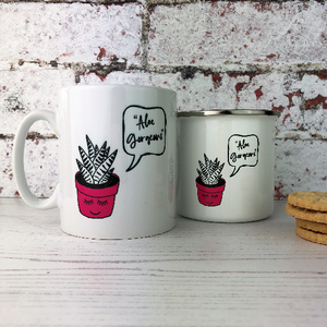 'Aloe Gorgeous' China Mug