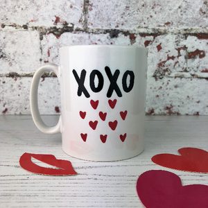 XOXO Hugs And Kisses China Mug