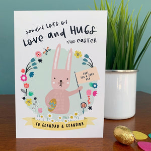 Love and Hugs at Easter Card