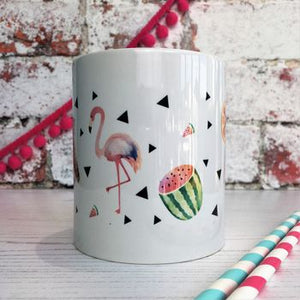 Feel Good Tropical China Mug