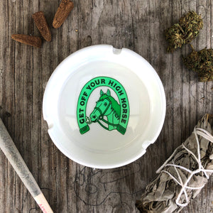 High Horse Ashtray