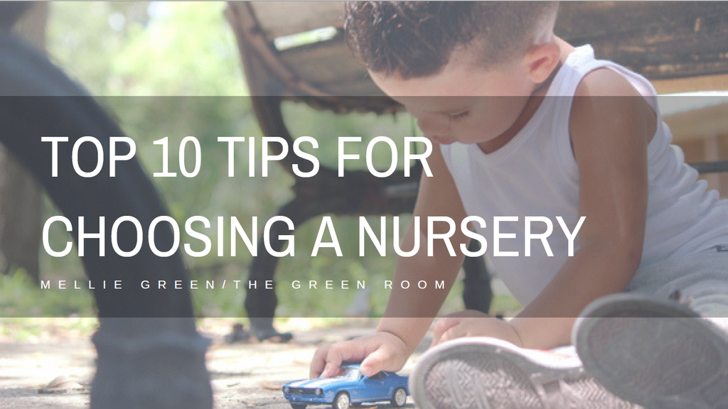 How to choose: A guide to starting nursery
