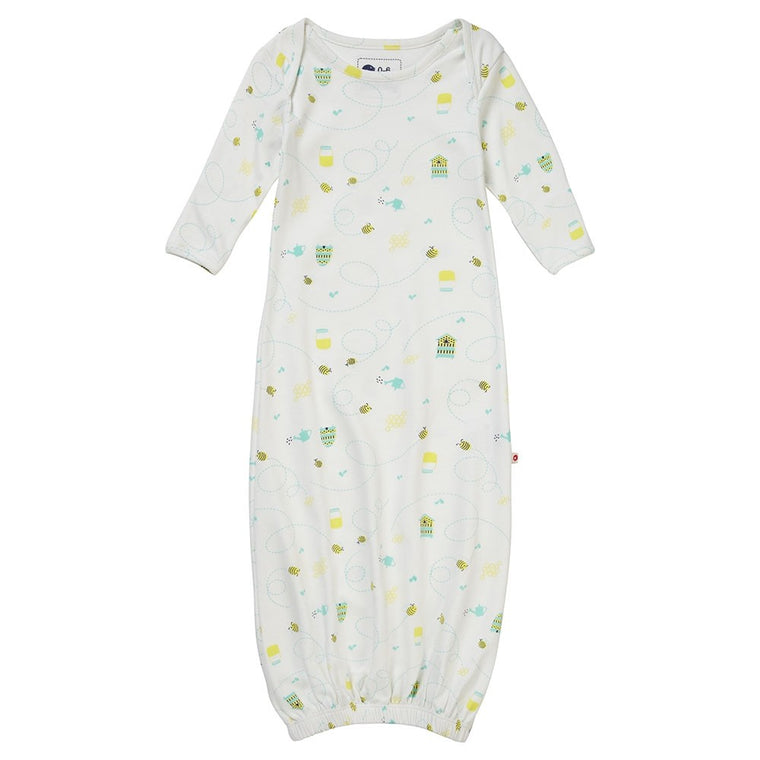 Honey Bee Baby Bundler Sleeping Gown