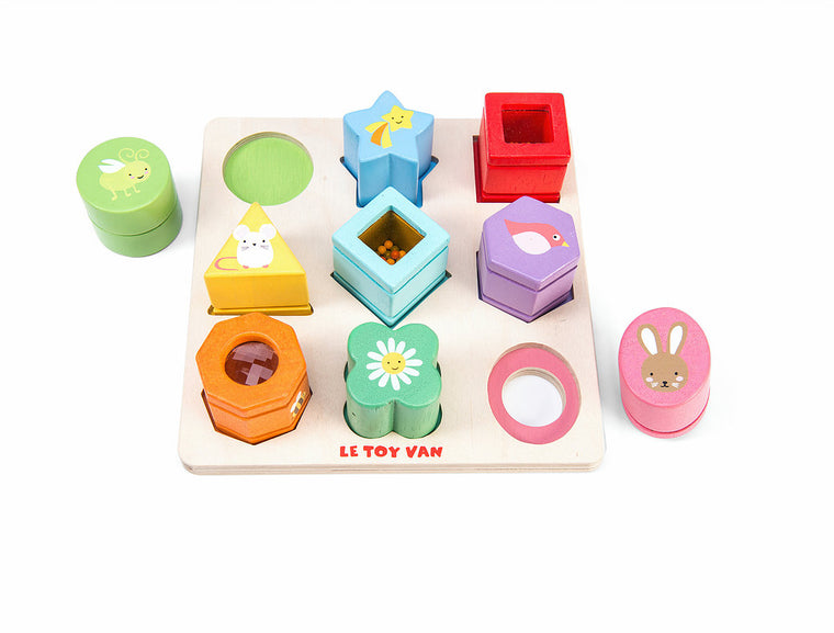 Wooden Sensory Shapes Puzzle