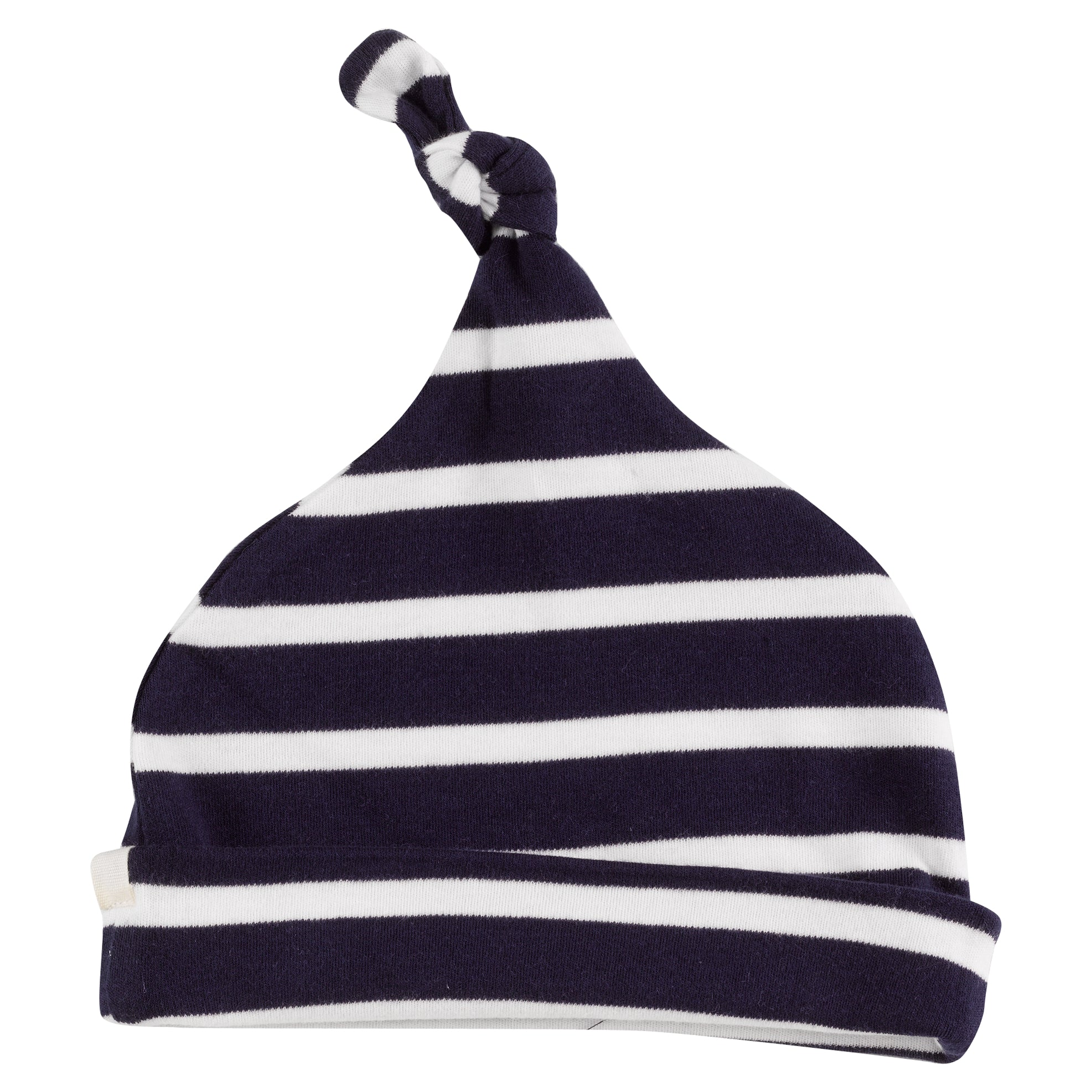 Breton Knotted Hat in Deep Indigo