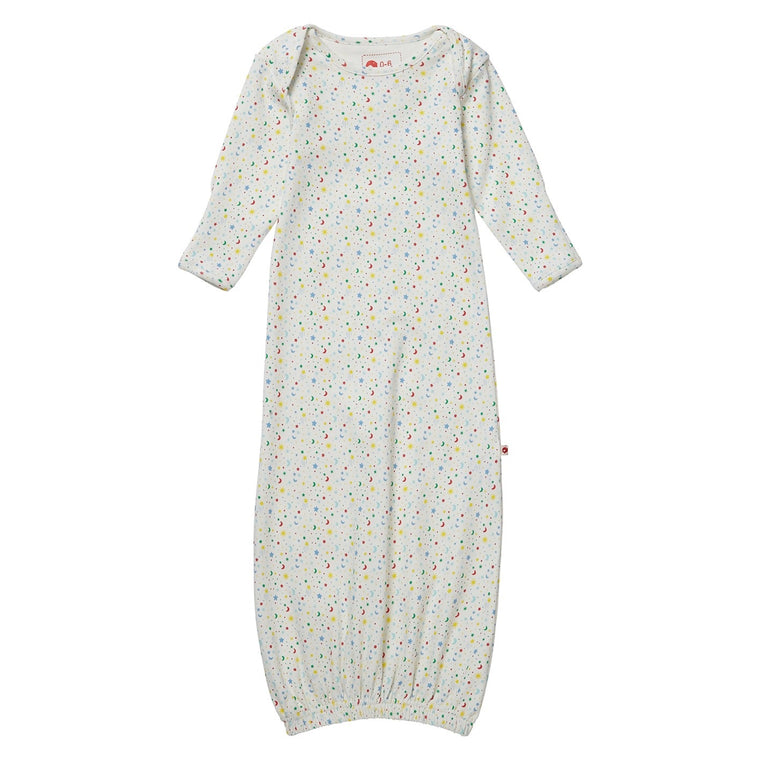Ditsy Star Baby Bundler Sleeping Gown