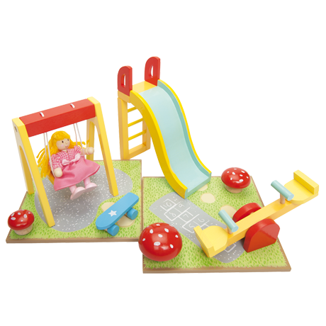 Doll's House Outdoor Play Accessories Set