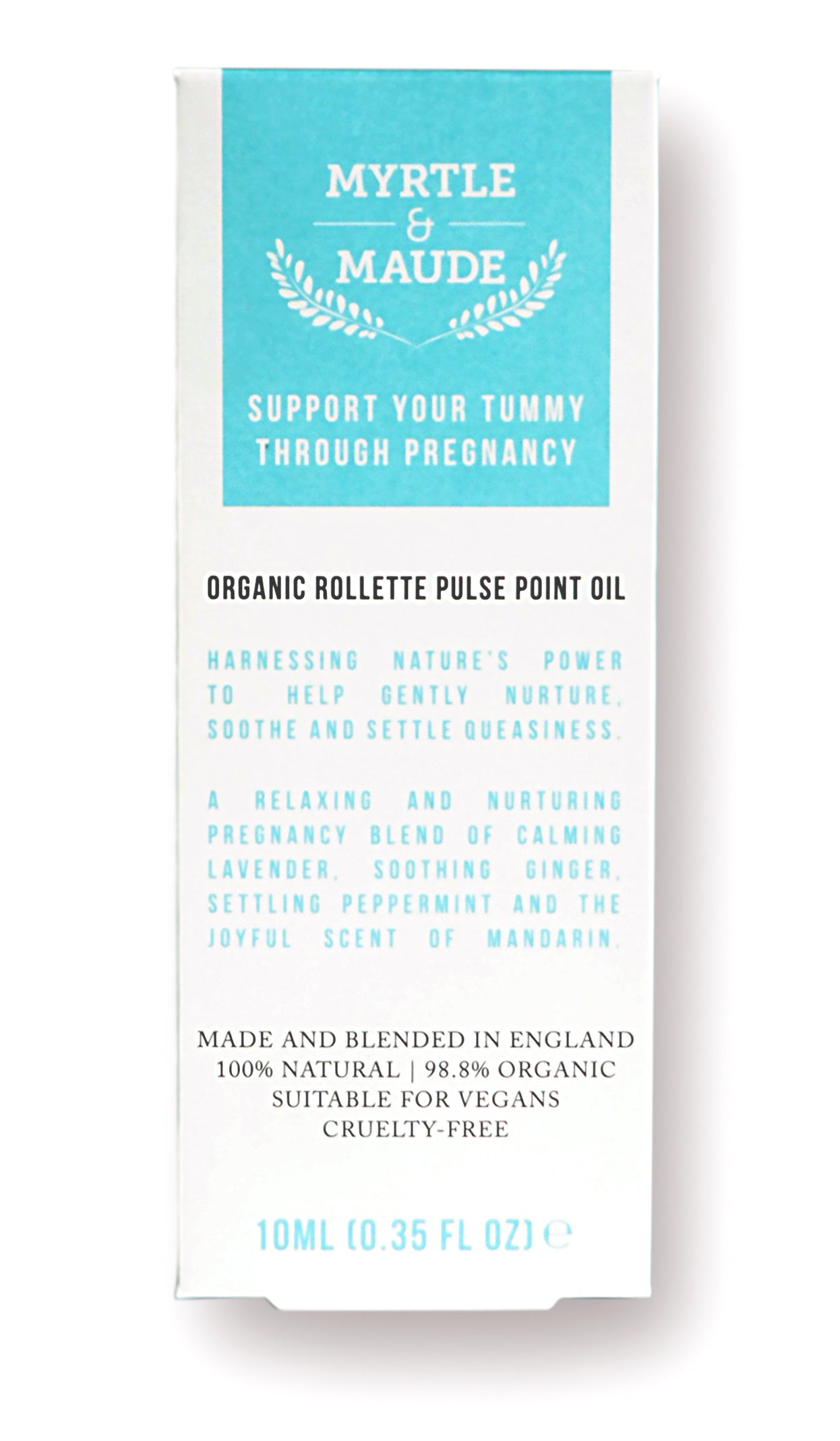 Support your tummy through pregnancy - pulse point oil