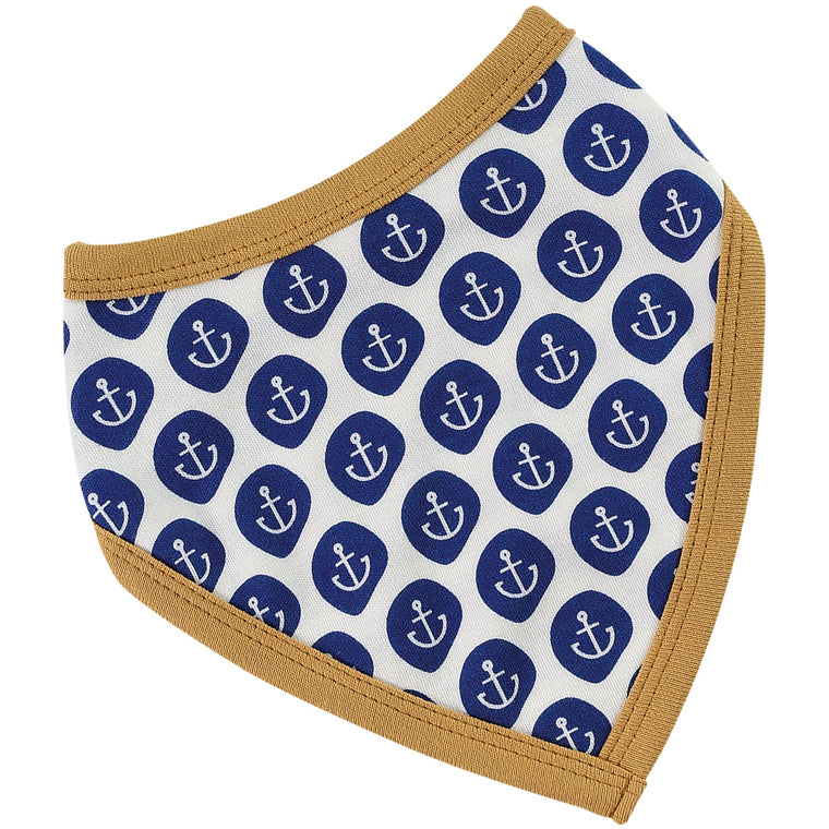 Reversible Nautical Bandana Bib