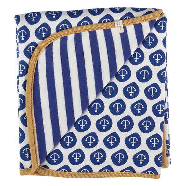 Reversible Nautical Blanket