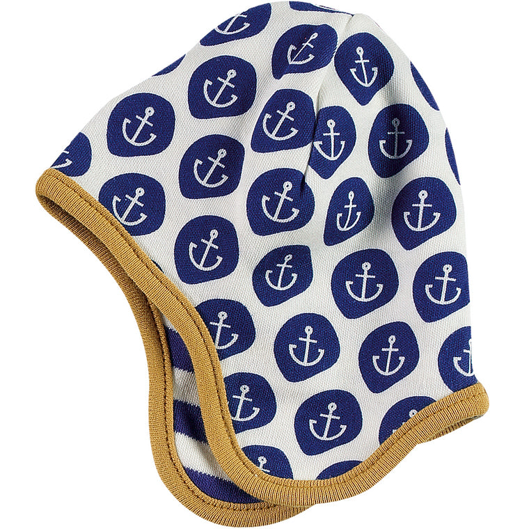 Reversible Nautical Hat