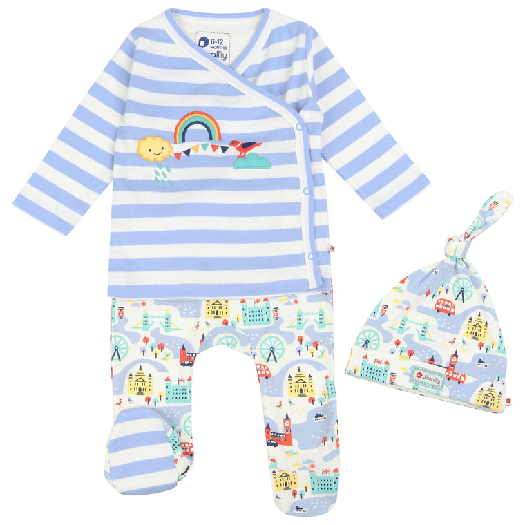 Little London 3 Piece Baby Set