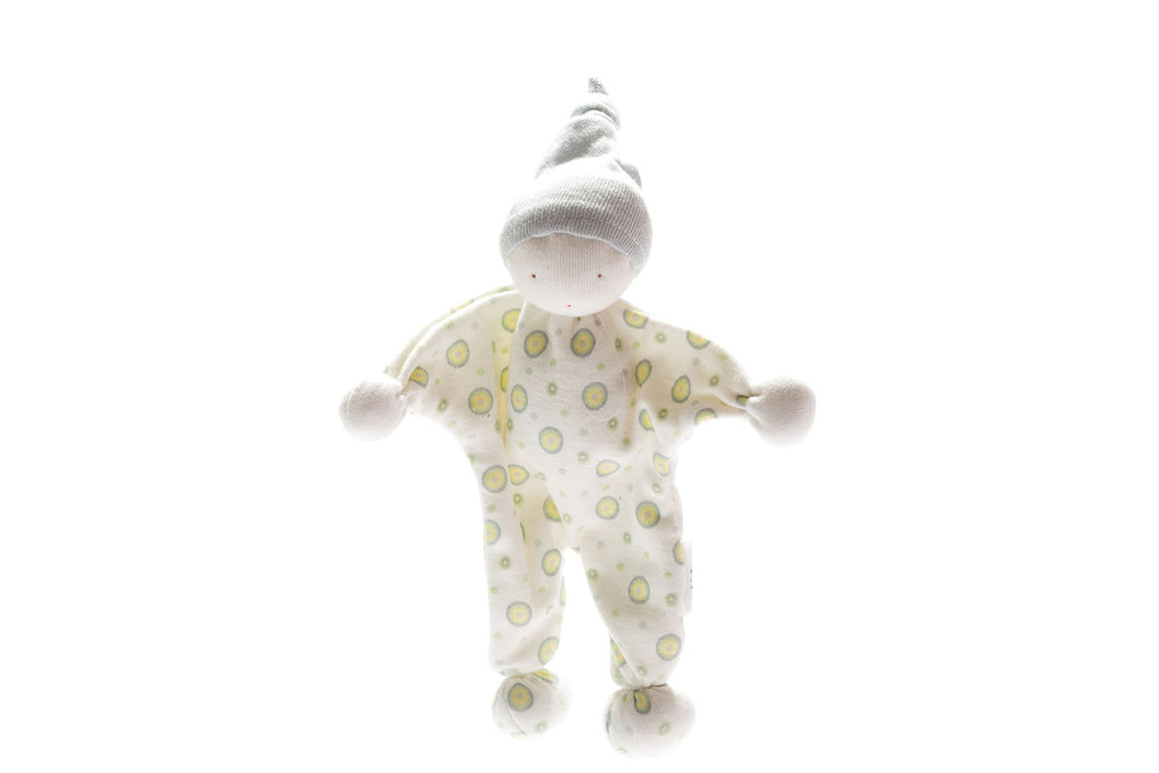 Organic Baby Buddy - Blue and Green Spot