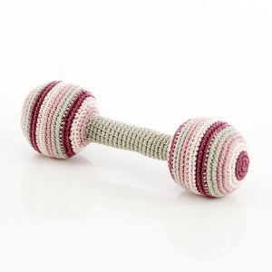 Organic Barbells in Soft Purple