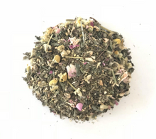 Help eleviate morning sickness with our vegan morning sickness tea with peppermint and ginger