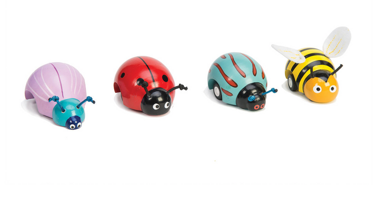 Wooden Bug Racers