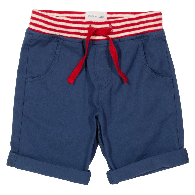 Mini Yacht Shorts - Navy