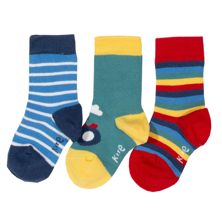 Farm Life Socks - 3 Pack