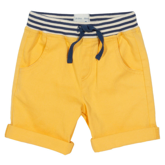 Mini Yacht Shorts - Yellow