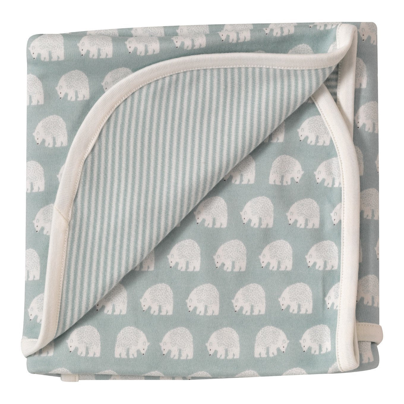 Blue Bear Reversible Blanket