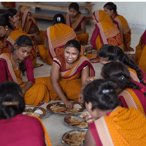 Indian women from Shakti® Gratitude Charity Factory where all products are made-Shakti Mat Canada