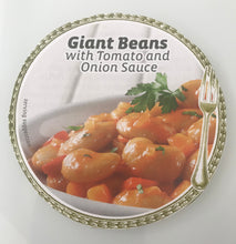 GIANT BEANS IN TOMATOE & ONION SAUCE