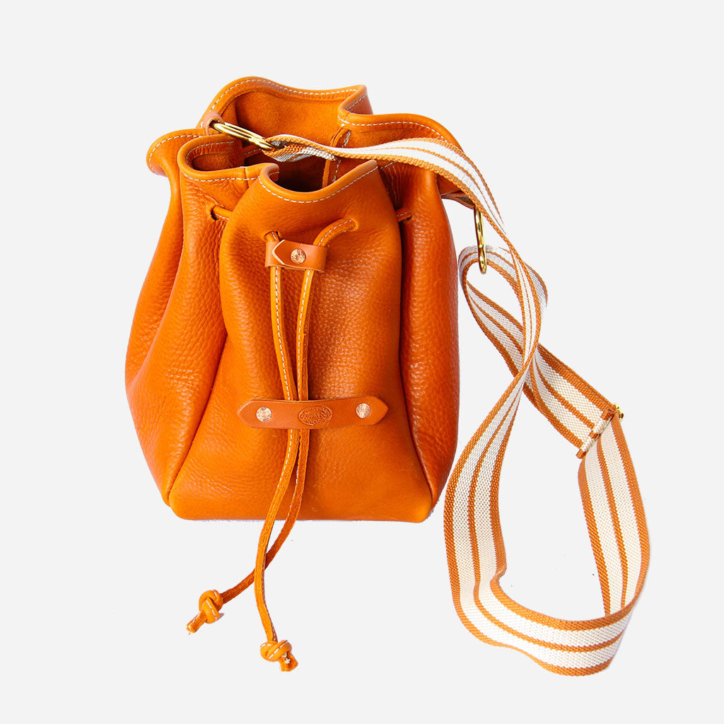 Arizona Bucket Bag Copperdot Leather Goods Made in Jackson Hole, WY