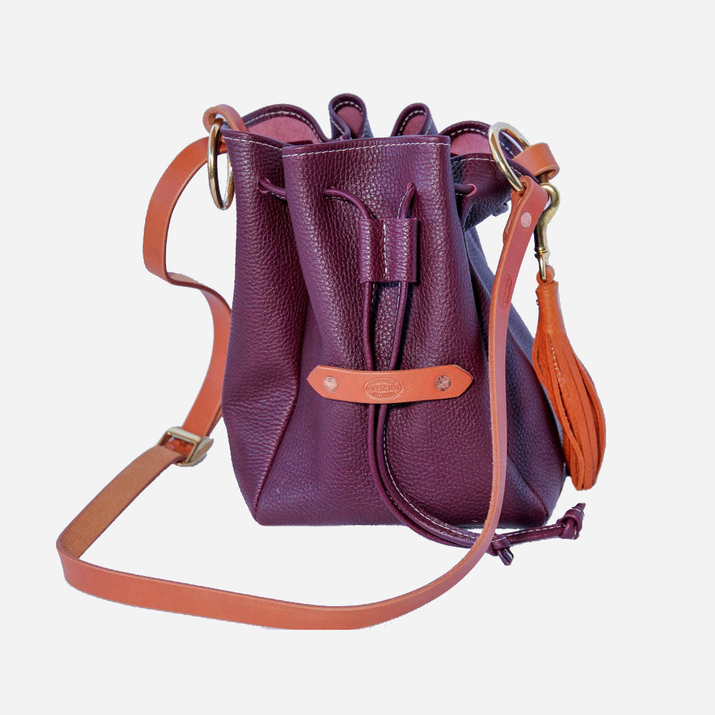 Bucket Bag - Burgundy