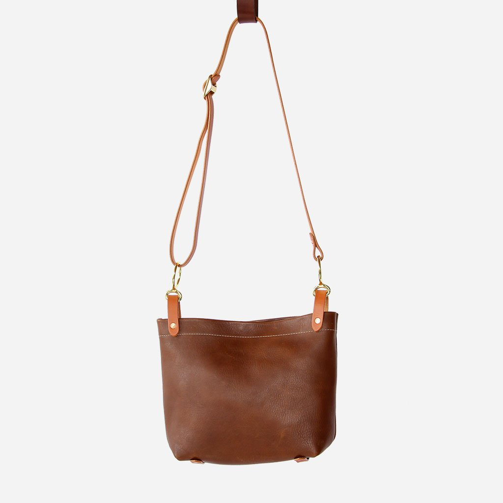 Walnut Conway Crossbody Bag