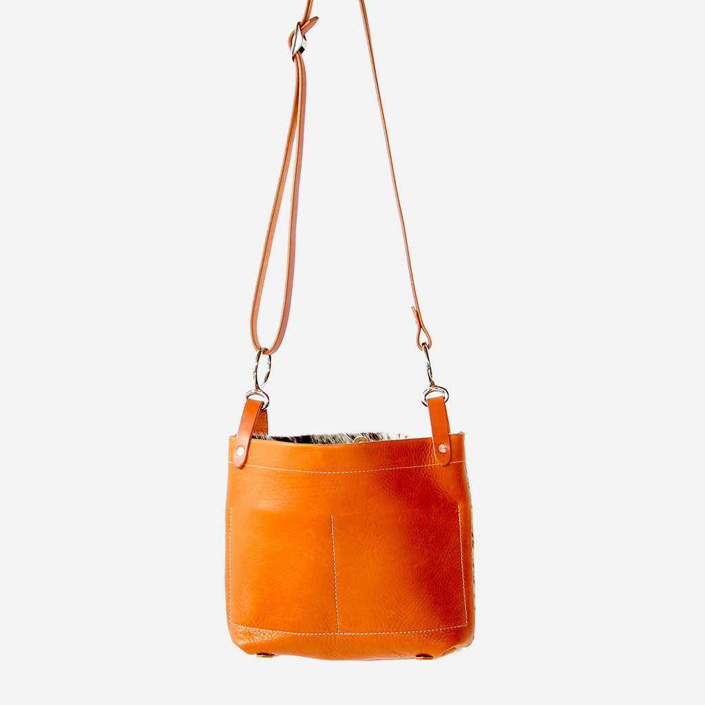 Arizona Conway Crossbody Bag Copperdot Leather Goods Made in Jackson Hole, WY