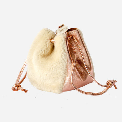 Copper Shearling Little Bo Peep