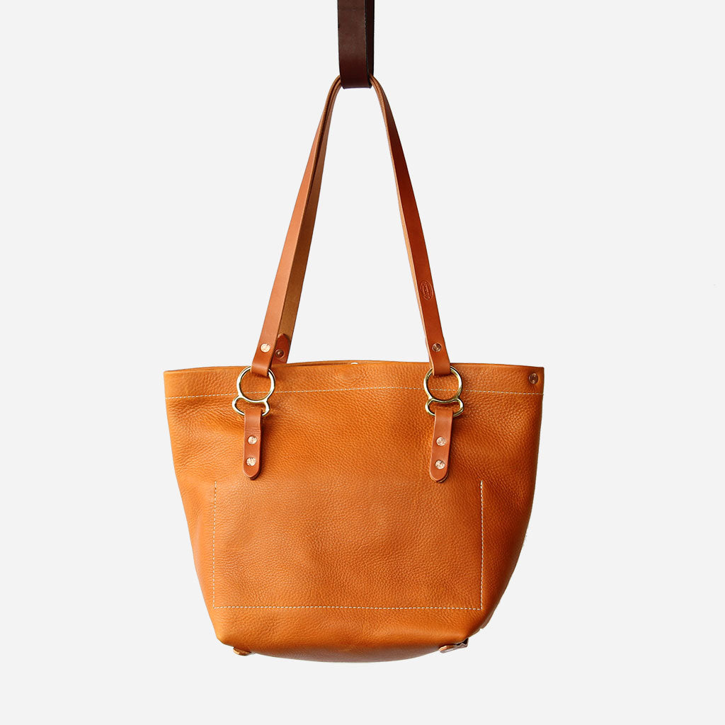 Arizona No. 1 Tote Copperdot Leather Goods Made in Jackson Hole, WY