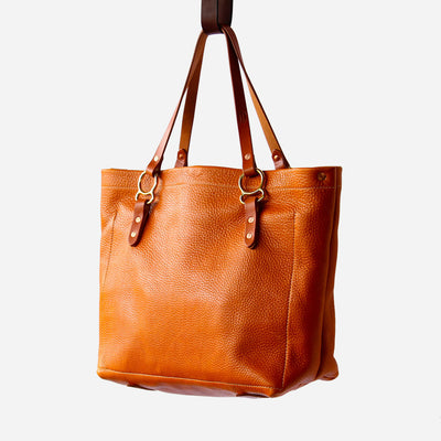 Arizona No. 2 Tote Copperdot Leather Goods Made in Jackson Hole, WY