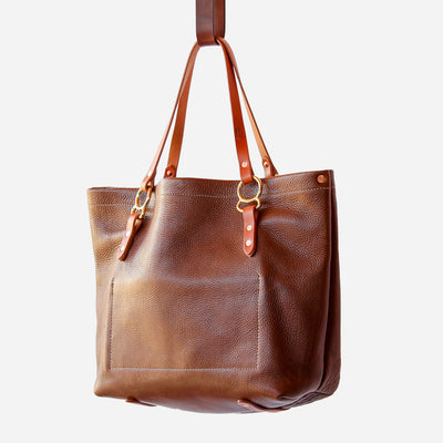 Copperdot #2 Leather Bag Walnut Chap