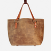 Sandstone No. 2 Tote Copperdot Leather Goods Made in Jackson Hole, WY
