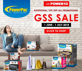 PowerPac Great Singapore Sale 2018