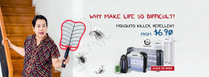 home appliances Singapore household home kitchen electrical powerpac powerpacsg mosquito repellent household