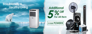 home appliances kitchen household powerpac Singapore aircon cooler fan towerfan standfan powerpacsg electrical