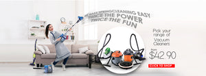 home appliances Singapore household home kitchen electrical powerpac powerpacsg vacuum cleaners spring cleaning