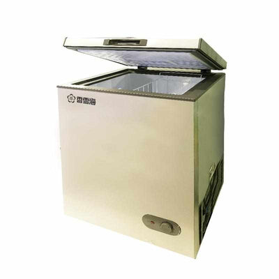 PowerPac x SnowSea 158L Chest Freezer CFC Free, Chiller & Freezer (BD158A) - PowerPacSG