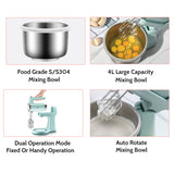 <<PRE-ORDER SPECIAL PRICE>> Bear Digital 4L Stand Mixer With Stainless Steel Bowl (DDQ-B03V1) - PowerPacSG
