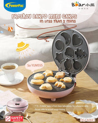 Bear Electric Cake Waffles Maker Multifunction Pan (DGJ-A06E1)